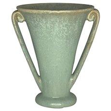 Fulper Pottery Crystalline Fan Vase c. 1922-1928