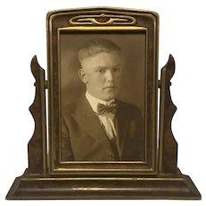 Art Deco Portrait Swivel Frame