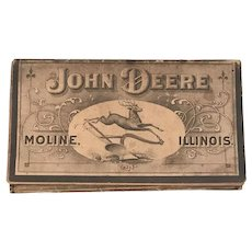 John Deere 1903 Farmers Pocket Companion Moline Illinois John Deere Plow Co. Kansas City, Mo. Denver, Colo. FREE SHIPPING!