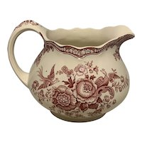 Crown Ducal Bristol Transfer Pitcher FREE SHIPPING!
