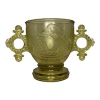 EAPG Atterbury & Co. Swan with Ring Handles Cup c. 1878-1882