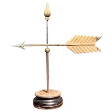 American Arrow Weathervane with Stand