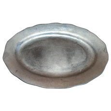 Beautiful Pewter Plate