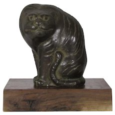 Maruyama Okyo Bronze Tiger, Japan