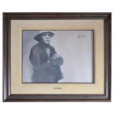 Aldo Luongo Original Pastel Painting