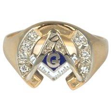 fe80435653a1a Masonic Degree Gold Jewelry | Ruby Lane