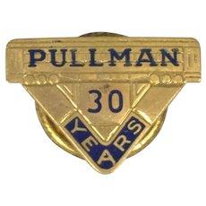Pullman Company 30 Year Employee Service Pin