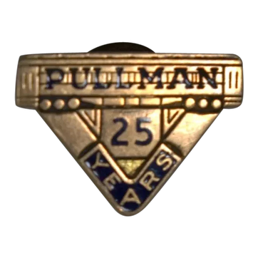 Pullman Company 25 Year Employee Service Pin