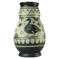 French art déco vase
