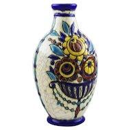 Boch Keramis vase by Charles Catteau