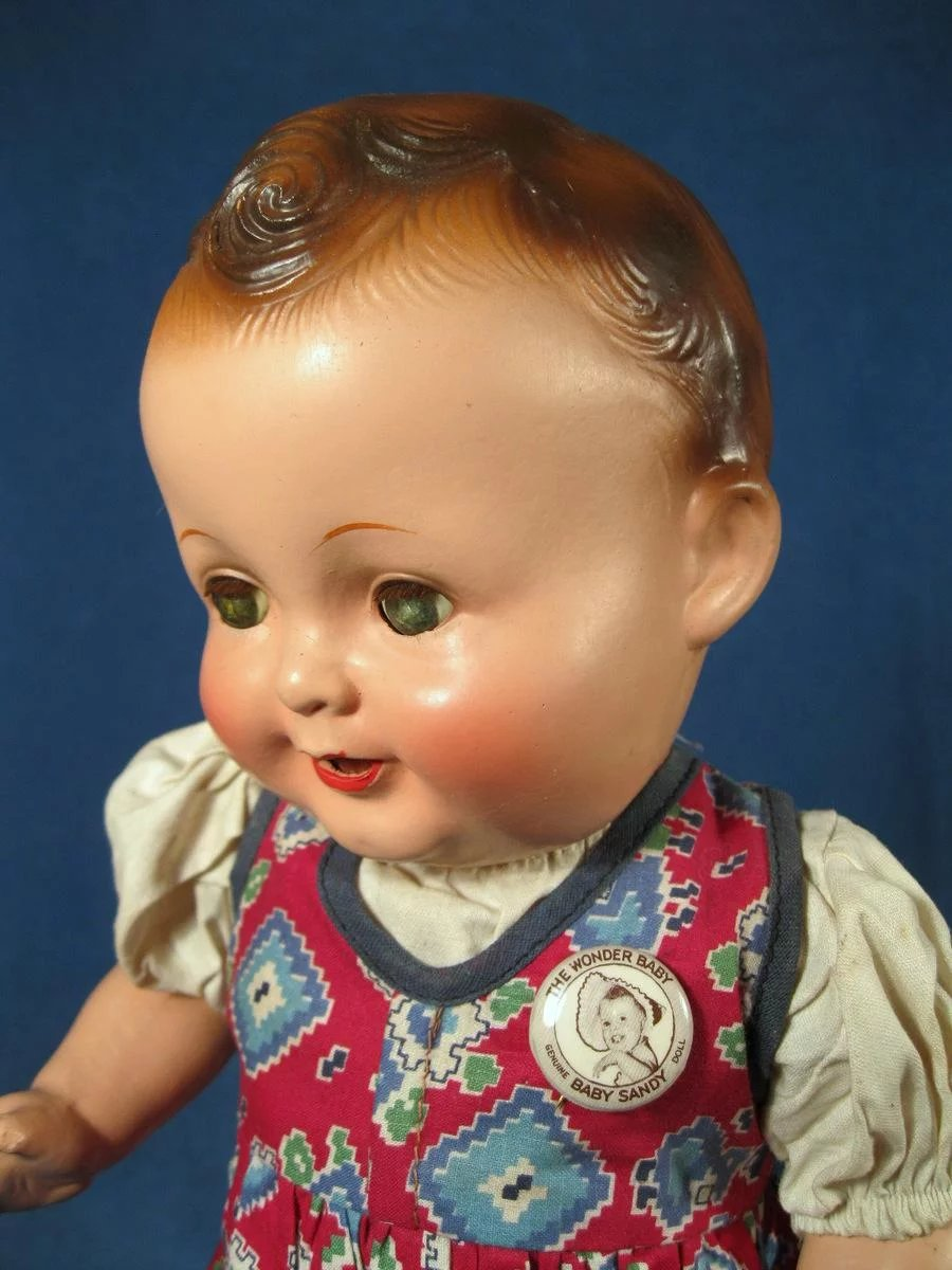 Baby Sandy Composition Doll By Freundlich 14 1 2 Quot Bea S