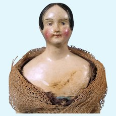 Early so-called Milliner's Model, All-Original,  1840's