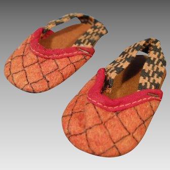 Felt Doll Slippers