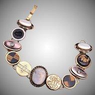 Cuff Link / Cufflink Bracelet
