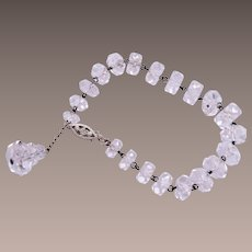 Beautifuly Faceted Crystal Bracelet