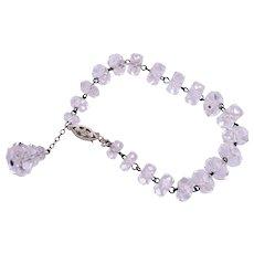 Wonderful Faceted Crystal Bracelet