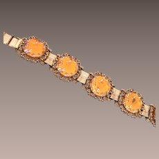 Judy Lee Molded Glass Bracelet