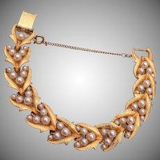Corocraft Faux Pearl Bracelet