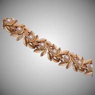 Avon Faux Pearl Bracelet