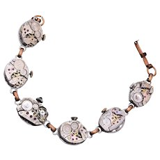 Jeweled Bearing Watch Bracelet