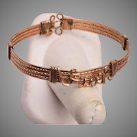 Ruth Gold Filled Wire Bracelet
