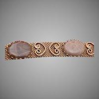 Petoskey Stone Buckle Bracelet