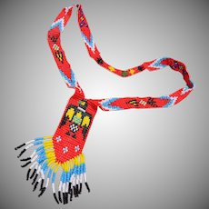 American Indian Beaded Necklace