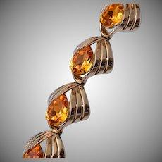 Elsa Schiaparelli Art Deco Style Bracelet Circa 1950's