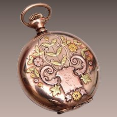 Beautiful Gold Filled Watch Case Locket