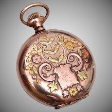 Beautiful Gold Filled Watch Case Locket