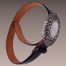 Andrea Barnett Sterling Silver Belt