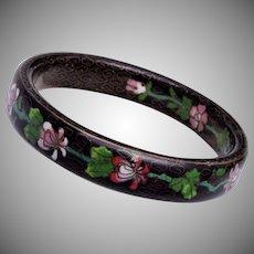 Old Chinese Cloisonné Enamel Bangle Bracelet