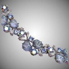 Lisner Blue Lava Stone Necklace