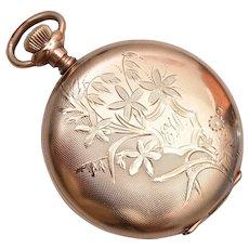 Eligin Gold Filled Pocket Watch - It Runs!