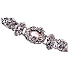 Napier Wonderful Repousse  Bracelet