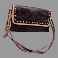 Double J Saddlery Vintage Rose Simple Clutch Purse