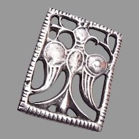 The Metropolitan Museum of Art Sterling Ancient Falcon Brooch