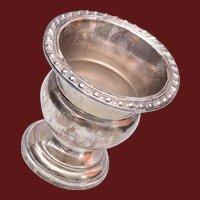 Vintage Mid Century Revere Silversmiths Sterling Silver Toothpick Holder/Urn  - 60.7 grams