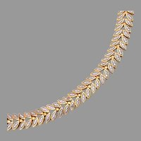 Gold and Silver Colored Bracelet