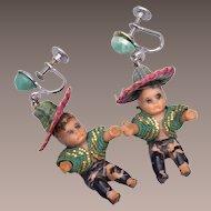 Mexican Baby Doll Earrings – Fabulous Design!
