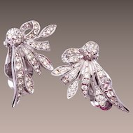 Polcini Rhinestone Earrings - Beautiful!