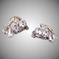 Weiss Rhinestone Earrings