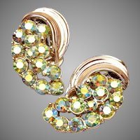 BSK AB Rhinestone Earrings