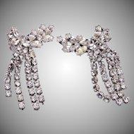 Charel Dangling Rhinestone Earrings