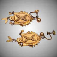 Etruscan Gold Earrings