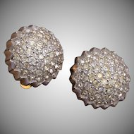 Jomaz Rhinestone Earrings