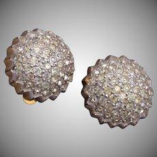 Jomaz Rhinestone Earrings