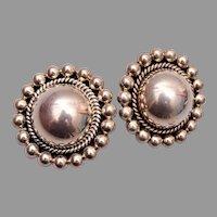 Sterling Mexico Earrings