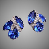 Blue Eisenberg Ice Earrings