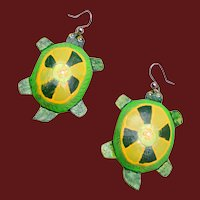 Light Weight Turtle Earrings